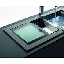 franke sink accessories chopping board schock domus glass chopping board