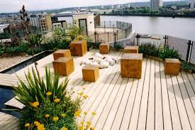 Rooftop Garden Ideas Penthouse Roof Garden In Canary Wharf Design By Andy Sturgeon