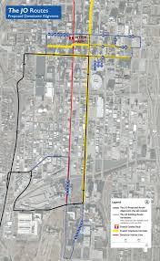 Umkc Campus Map Independence Ave Brt Study Transit Initiatives Kcata
