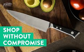 black friday stainless dinnerware amazon amazon com high carbon stainless steel chef knife by nourish