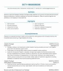 Examples Of Paralegal Resumes by Best Paralegal Resume Example Livecareer