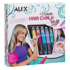 hair beading alex toys spa metallic hair chalk salon alexbrands