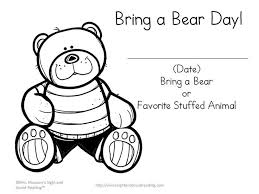 going on a bear hunt coloring pages 16 best teddy bears images on pinterest bears preschool teddy