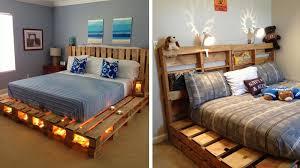 fabrication canapé en palette diy fabriquer un lit en palette de bois cuboak