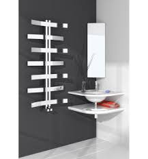 bathroom wooden heated towel rack wall mounted with shelf fileove