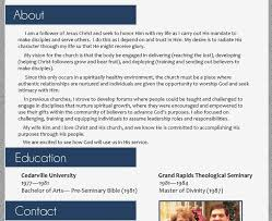 terrific pastor resume template 16 17 best images about resumes on