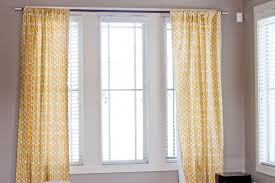 Hanging Up Curtains Without Nails by The Right And Wrong Way To Hang Curtains How To Hang Curtains