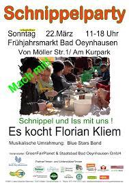 Bad Oeynhausen Veranstaltungen Kommende Veranstaltungen Schnippelparty In Bad