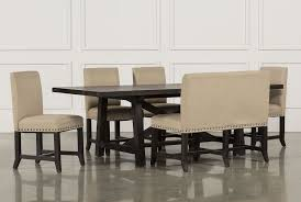 jaxon 6 piece rectangle dining set w bench u0026 uph chairs living
