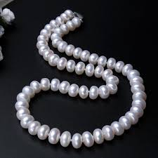 natural necklace pearl images Aaaa high quality natural freshwater pearl necklace 3 colors 8 9mm jpg