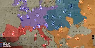 European Map Games by Atwar Screen Shot Europe In 1334 Image Mod Db