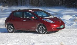 nissan leaf x 2015 nissan leaf the snow and ice report sustainable us