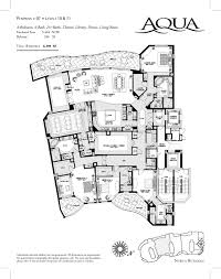 Condo Blueprints by Pictures Luxury Floorplans The Latest Architectural Digest Home