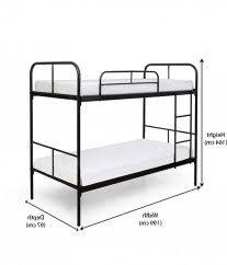 Bunk Bed Matress Ordinary Bunk Bed Mattress Depth 1 Bunk Bed Height Standards