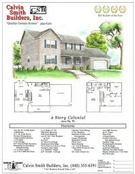 Colonial Home Floor Plans New Home Floor Plans Lagrange Oh