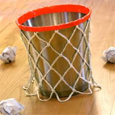 kids basketball room decor diy basketball wastebasket