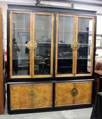 century furniture china hua china cabinet hutch bronze metal
