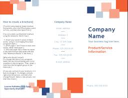 brochure templates for school project booklet office templates