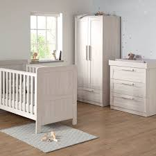 mamas u0026 papas atlas 3 piece nursery furniture set nimbus white
