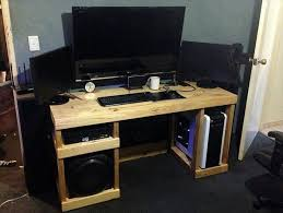 cool computer desk cool computer desk homemade idea remodelling by living room decor a