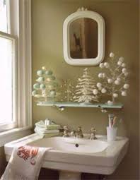 Bathtub Decorations Cute Bathroom Decorating Ideas For Christmas Family Holiday Net