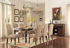 9 Pc Dining Room Sets by 9 Piece Homelegance Benwick Rectangular Dining Set Usa Furniture