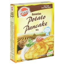 potato pancake mix manischewitz panni bavarian potato pancake mix 6 63 ounce boxes