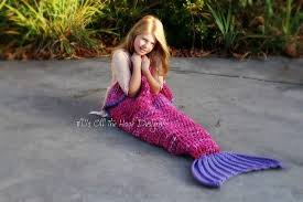 crochet mermaid blanket tutorial youtube video diy