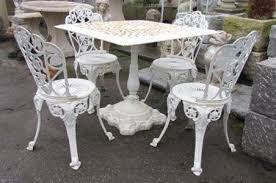 white cast iron patio furniture info home and furniture
