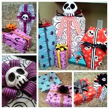 nightmare before wrapping paper diy tutorial nbc