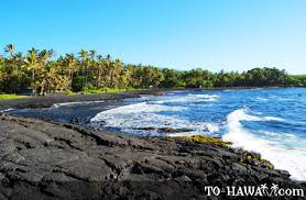 black sand beach big island punaluu black sand beach big island