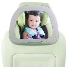 baby car mirror with light koo di light up led car mirror amazon co uk baby