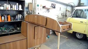 vw bay window camper van cabinets for customer to fit themselves