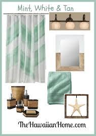 Beachy Mint Green Bathroom The Hawaiian Home