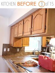 how to paint above kitchen cabinets 15 inspiring before after kitchen remodel ideas must see