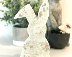 Buy Easter Decorations Canada by Bunnies Set Of Two Easter Bunny Easter Decorations Spring
