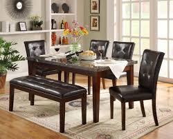 Dining Table Set Espresso Homelegance 2456 64 Set1 Decatur 6pcs Espresso Dining Table Set