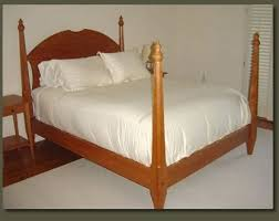 cherry bedroom furniture unique four poster solid cherry bed