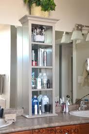 bathroom counter storage ideas bathroom counter storage tower modern home