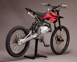 making a motocross bike road legal motoped a new kind of hybrid now with video motorcycledaily