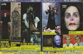 masks of the 2004 halloween outlet fright catalog blood curdling