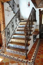 12 best the best mexican tile stairs for your spanish style décor