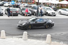 porsche stinger porsche topcar 991 turbo s stinger gtr 16 june 2016 autogespot