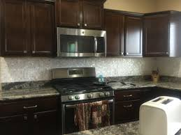 Kitchen Backsplash Dark Cabinets Interior Mother Of Pearl Backsplash Mother Of Pearl Tile Mother