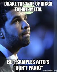 Drake The Type Of Meme - drake the type of nigga to hate metal but sles aitd s don t