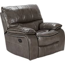 cindy crawford recliner sofa cindy crawford home gianna gray leather reclining glider console