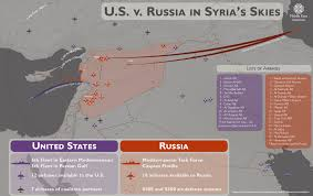 Map Of Russia And Syria by U S Vs Russia In Syria U0027s Skies Middle East Institute