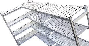 scaffali prezzo scaffalature piani in alluminio alimentari celle frigorifero