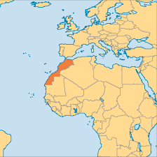 Maryland On A Map Morocco Operation World