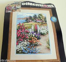 dimensions needlepoint kit unsued summer sublime 2473 erin dertner
